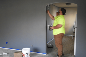painting drywall repair